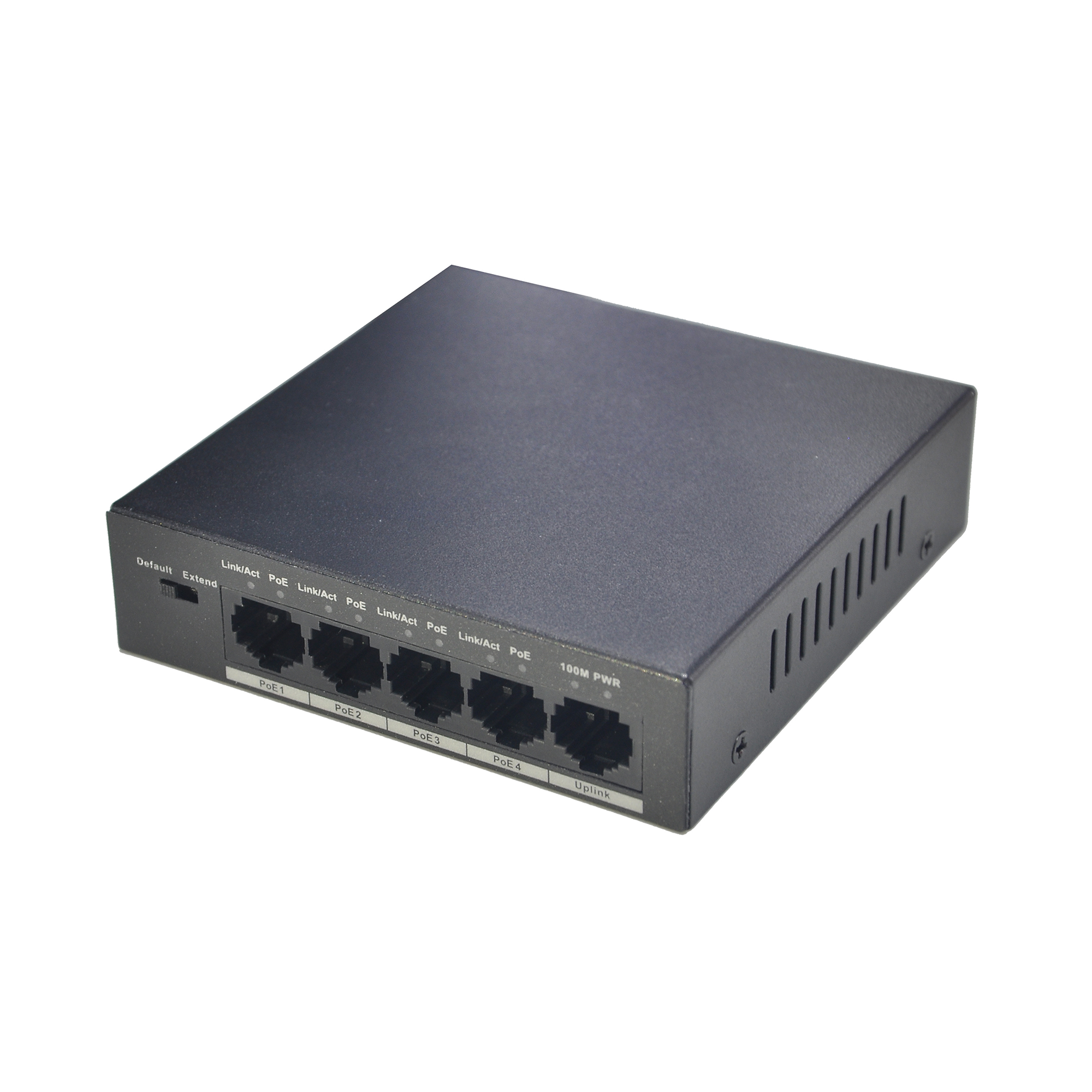 SWITCH 5 PORT POE DAHUA REF 	 PFS3005-4P-58
