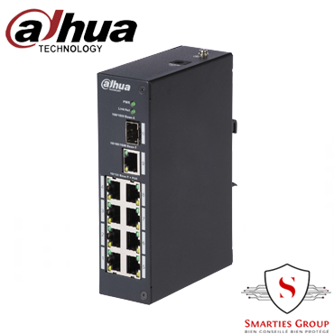 SWITCH 8 PORT GIGABIT PFS3110-8P-96