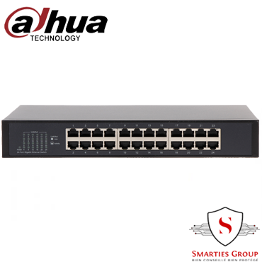24-Port Gigabit Switch DAHUA REF DH-PFS3024-24GT
