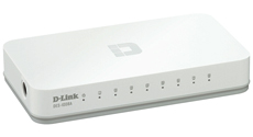 Switch Non Administrable D-Link 8-port 10/100Base-T (DES-1008A/E)