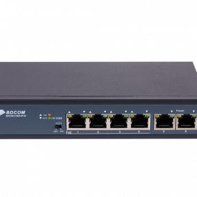 SWITCH 4 PORT POE  S1006-4P-65