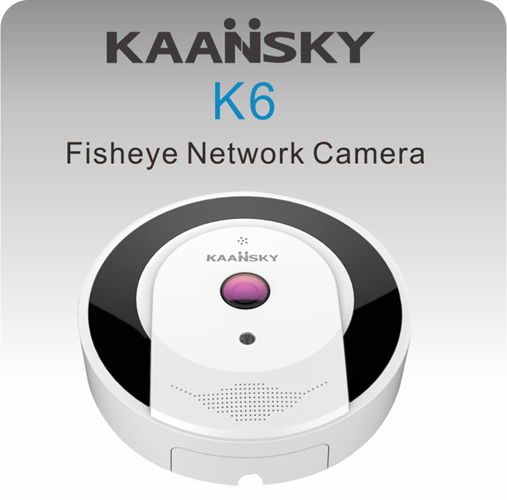 FISH EYE IP KAANSKY REF  KAANSKY K6 360°Fisheye